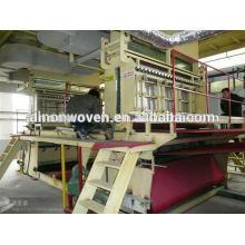 Tela no tejida caliente de la venta AL-3200mm SMS PP que hace la máquina