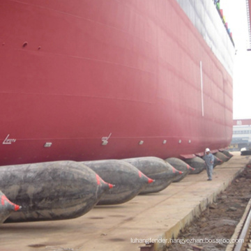 ccs certified boat launching and docking lifting ship rubber airbag