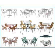 Mesa de aluminio y silla (XY-701)