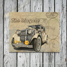 Vintage Old Car Canvas Prints
