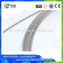 Corde à fil d'acier 7x7 Strand Core
