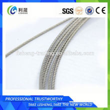 Steel Wire Rope 7x7 Strand Core