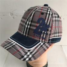 (LPM16017) Bordado construido promocional gorra bordada