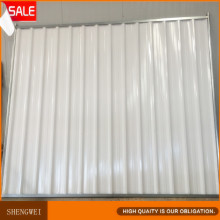 Super-qualité Colorbond Solid Steel Temporary Hoarding Fencing Panels