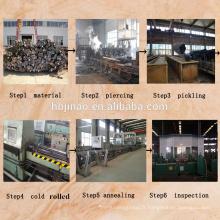 DIN EN17175 Standard ST45.8 Exportation et fabrication de tuyaux en acier sans soudure