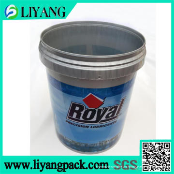 Película de transferencia de calor para cubo de aceite de motor