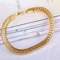Men's Thick Bracelet Link Curb Chain Bracelet