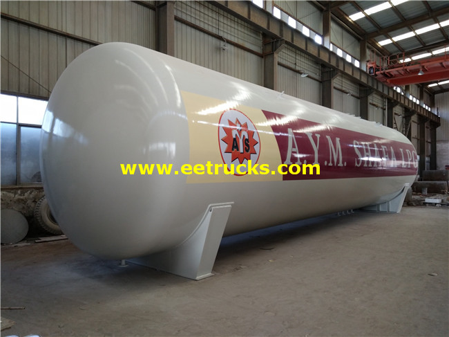 100 CBM LPG Steel Gas Tanks