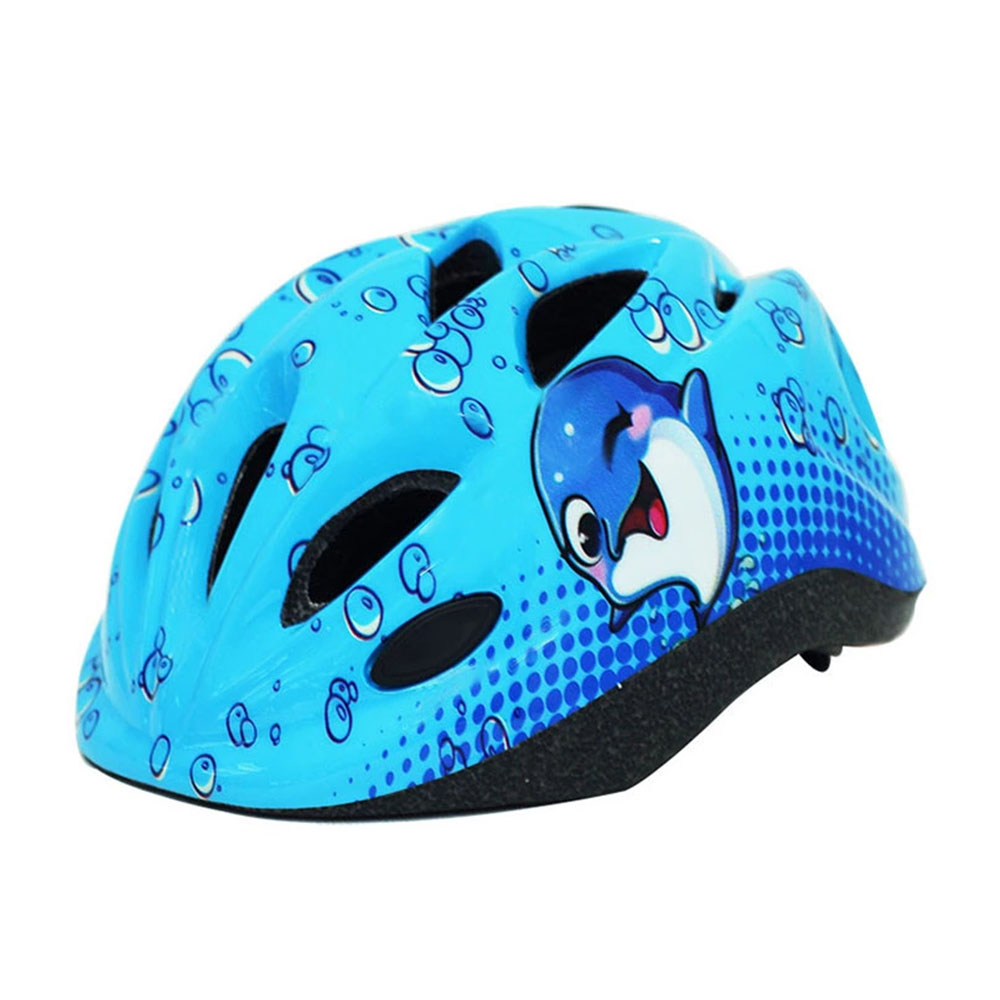 Blue Bike Helmet