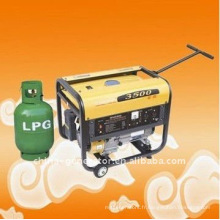 WH3500lpg Clean Burning Home use GPL et générateurs de gaz naturel et essence 2.5kw
