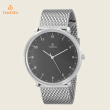 Men′s Stainless Steel Watch with Mesh Band 72346