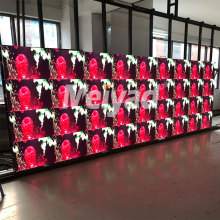 Video wall die casting indoor