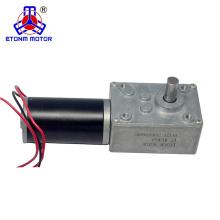 Hot-Selling High Torque 24v dc worm gear motor