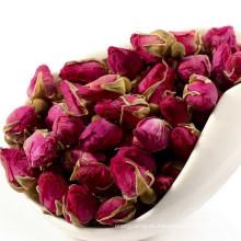 rosa té de hoja de loto