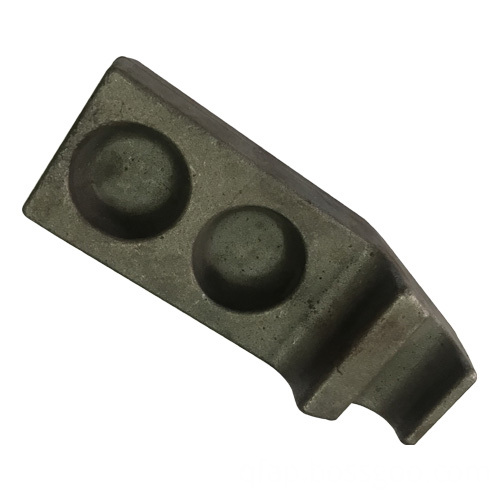 Rail hook forging cast