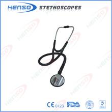 Estetoscópio médico de cardiologia de liga de zinco médico