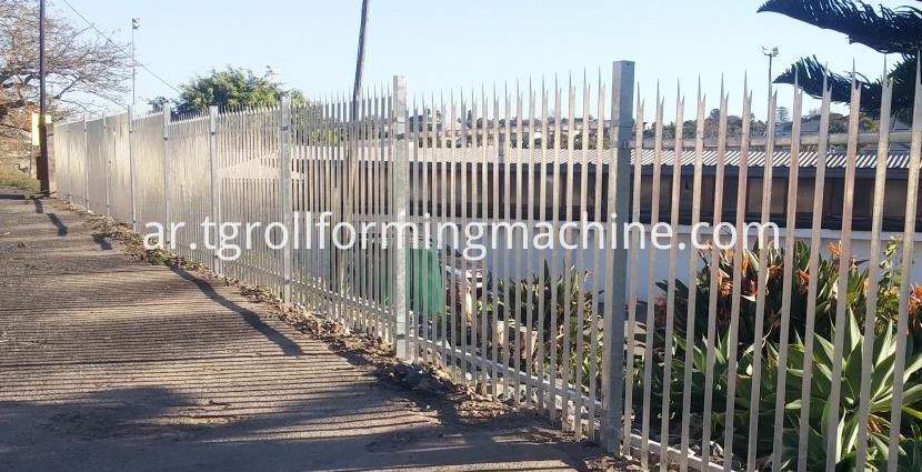 Picket Fence Panels Machine