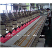 Fusible interlining for embroidery machine