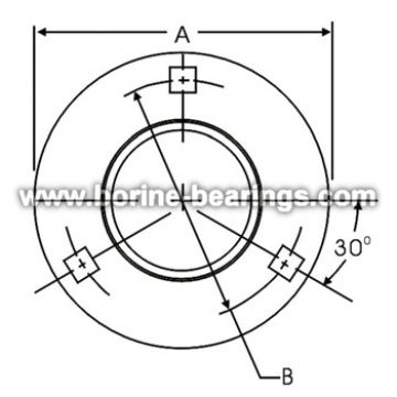 Best Price for for Stamped Bearing Flange 3-Bolt Hole Round Self-Aligning Mounting Flanges supply to Bosnia and Herzegovina Manufacturers