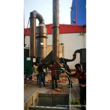 Caldera de vapor industrial de cáscara de arroz de carbón de alta temperatura