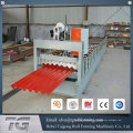 Hochwertige gewellte Aluminium-Metall-Dach-Panel-Walze Formmaschine
