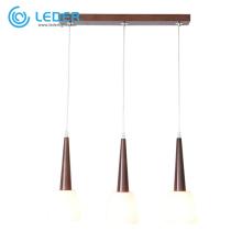 LEDER Cool Wooden Pendant Lamps