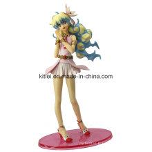 Jouet de figurine de miel anime en plastique