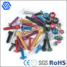 Titanium Aluminium Alloy All Kinds Socket Anodized Bolts
