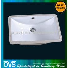 Fregadero de cerámica del lavabo de cerámica de A8610 OVS debajo del lavabo del montaje