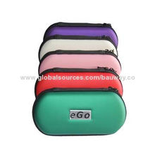Electronic Cigarette eGo Zipper Cases, OEM Orders Welcomed, Beautiful Appearance