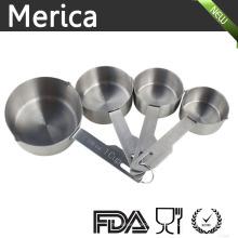 Meilleures cuillères de mesure pour ingrédients secs et liquides - Ensemble de 4
