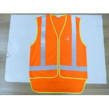 Reflective Safety Vest with 1 PVC Pocket