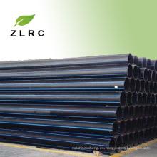 Buen precio plástico grande de 20m m a de 1200m m tubo plástico agrícola del HDPE para la irrigación de agua