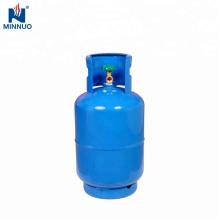 Dominica 25LBS con botella de cilindro de propano de gas de acero estufa de acero