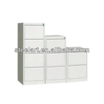 Bunter Aktenschrank mit 4 Schubladen aus Stahl