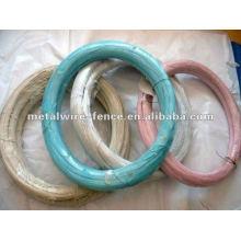 Alambre de bobina recubierto de PVC de alta calidad