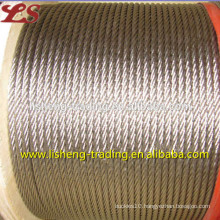6x19 bright steel wire rope sling