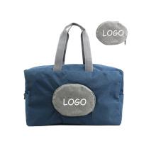 custom lightweight waterproof Folding Travel Bag New Women Travel Foldable Storage Luggage Trolley bag