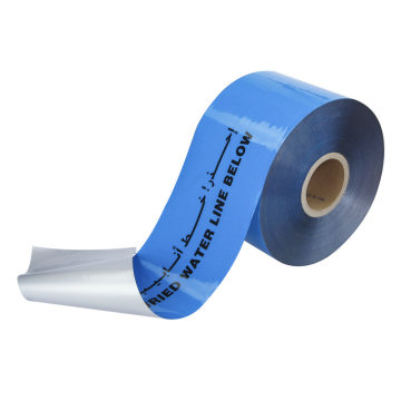 Underground Pipeline Detectable Aluminium Film Warning Tape