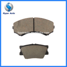 Low Metal Friction Coefficient D763/7631 Auto Bremse Brake Pad Replacement Brake Pad