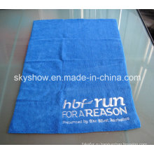 Вышитое полотенце для лица из микрофибры (SST0293)