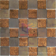 48*48mm Glass Mix Copper Art Mosaic (CFM960)