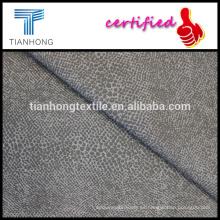 piel animal impreso algodón del spandex del estiramiento de la tela cruzada para otoño pitillo