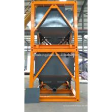 Mobiles Zementsilo für den Export horizontal Typ stapelbar