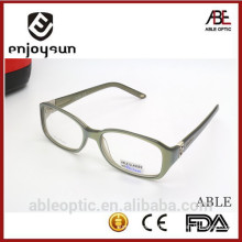 2015 hotselling fashion light color square optical frames acetate hand made spectacles eyeglasses