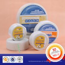 Fita adesiva de fibra de vidro para material impermeável resistente a álcalis