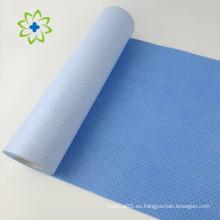 Tela no tejida laminada reforzada laminada de dos capas