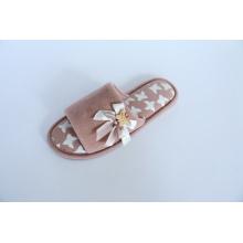 Damen-Indoor-Slipper mit Velour