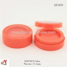 SF099 Récipients à crème ronde colorés en plastique, récipient en plastique rond