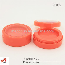 SF099 Colorful round cream containers plastic round box, round plastic container